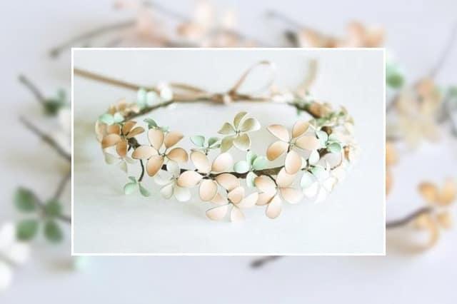 Λουλούδια με σύρμα και βερνίκι νυχιών 3