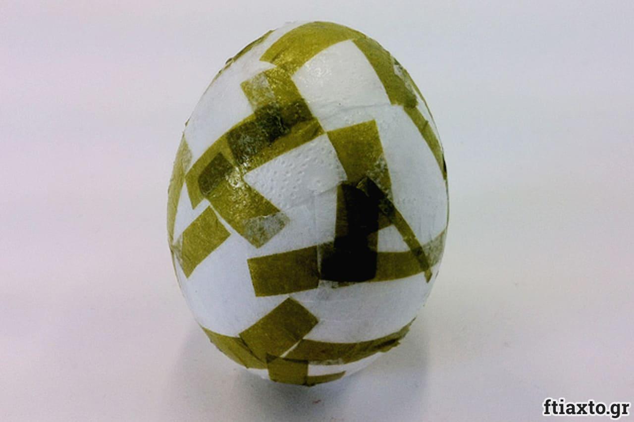 Πασχαλινά αυγά από φελιζόλ 3