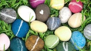felt-pebbles