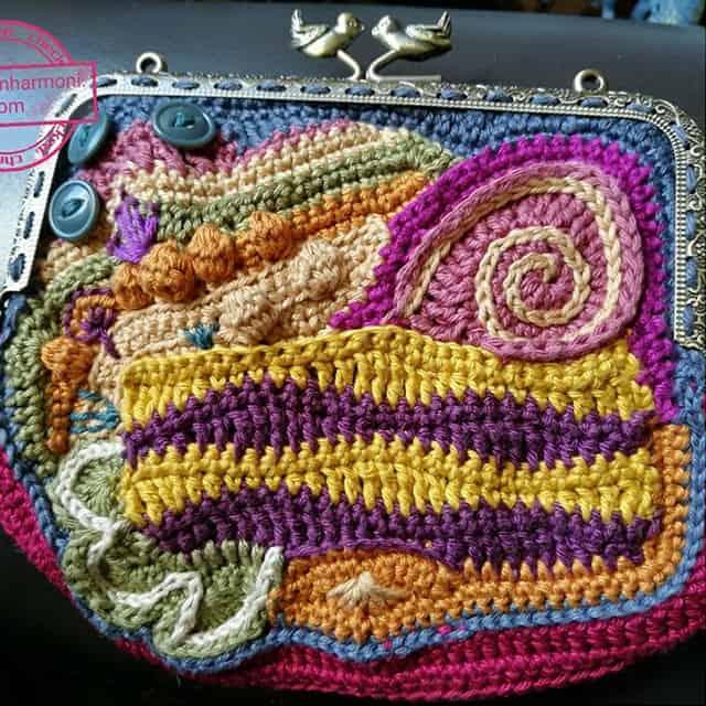 Βελονάκι με ελεύθερο σχέδιο (Freeform Crochet)