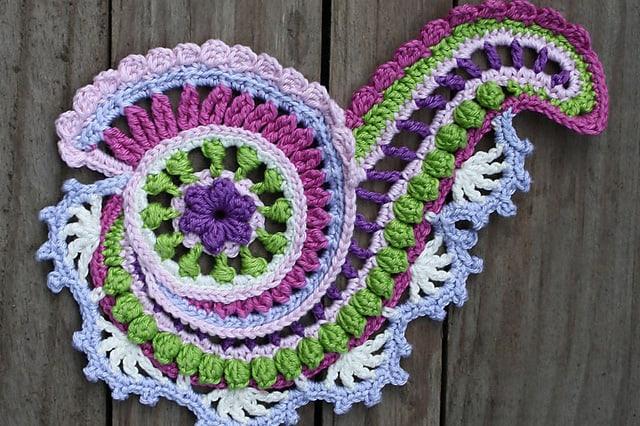 Βελονάκι με ελεύθερο σχέδιο (Freeform Crochet) 1