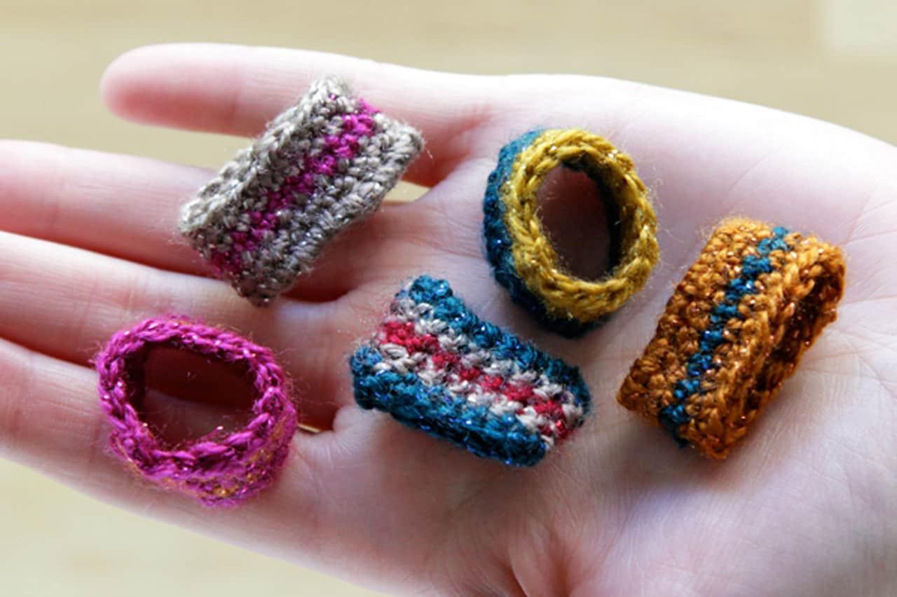 Δαχτυλίδια με βελονάκι 1