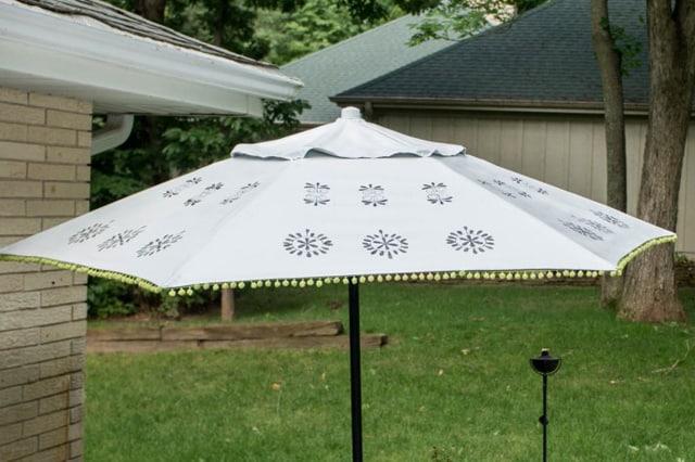 Ανανέωση ομπρέλας κήπου 1