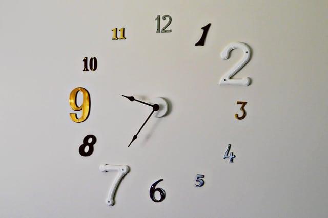 Μεγάλο ρολόι τοίχου
