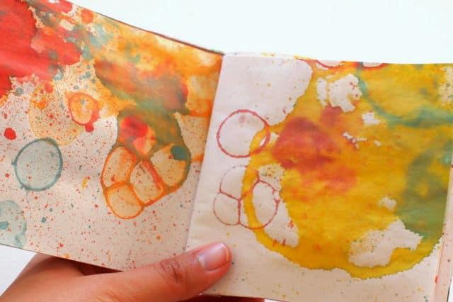Ζωγραφική με σαπουνόφουσκες 2