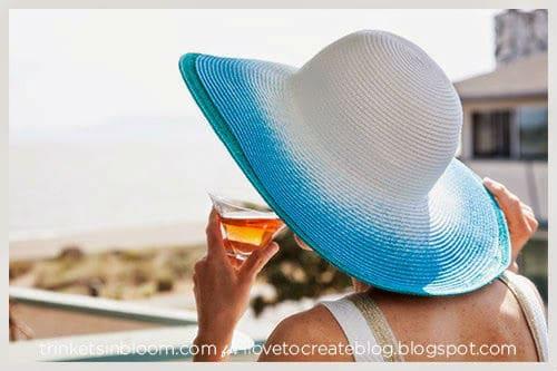 καλοκαιρινό καπέλο