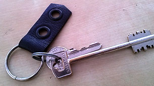 leather-keychain