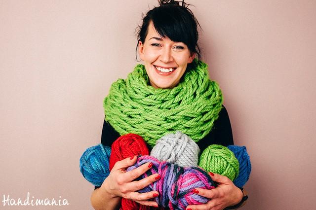 Arm Knitting ή πλέξιμο με τα χέρια 1