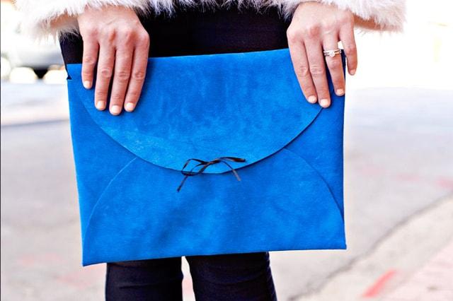 Τσάντα φάκελος από δέρμα 1