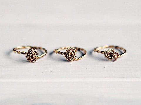 δαχτυλίδι από σύρμα