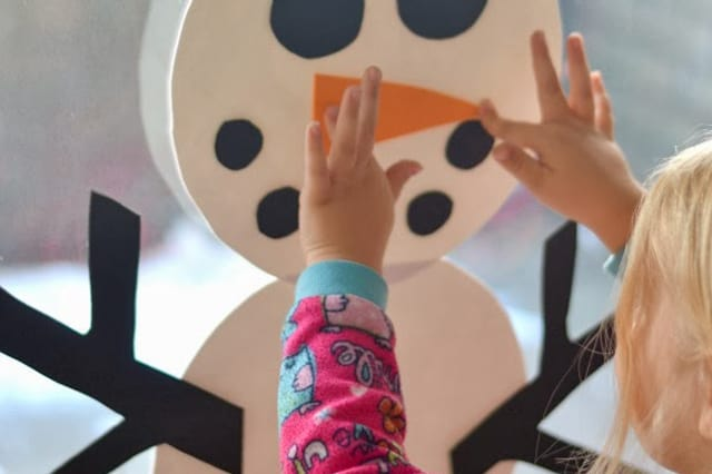 Χιονάνθρωπος για το σπίτι 3