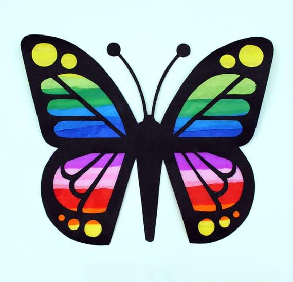 6+1 ιδέες για χειροποίητες πεταλούδες 2