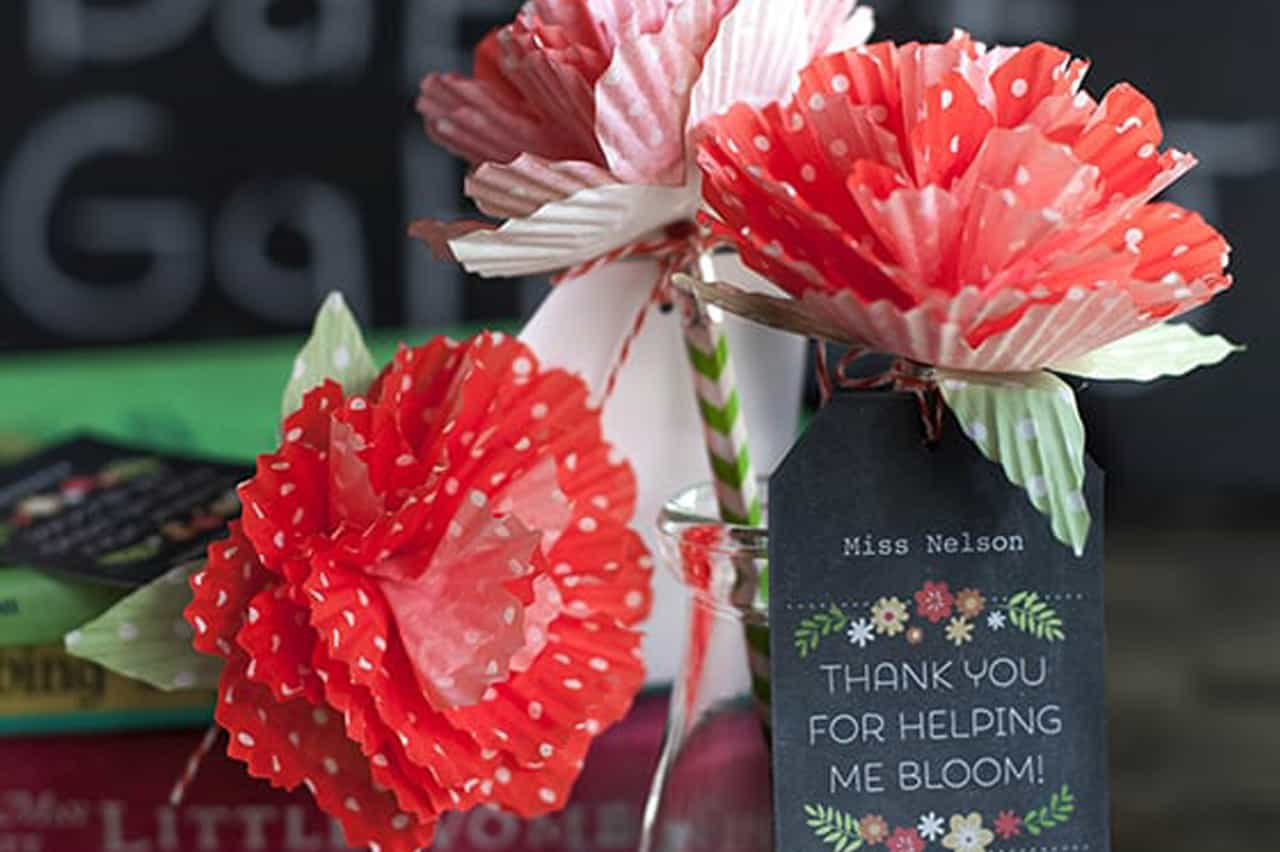 Λουλούδια από θήκες για cupcakes 2