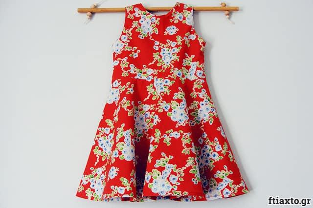 Ανοιξιάτικο παιδικό φόρεμα 1