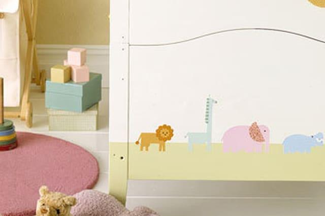 Διακόσμηση παιδικού δωματίου με ντεκουπάζ 5