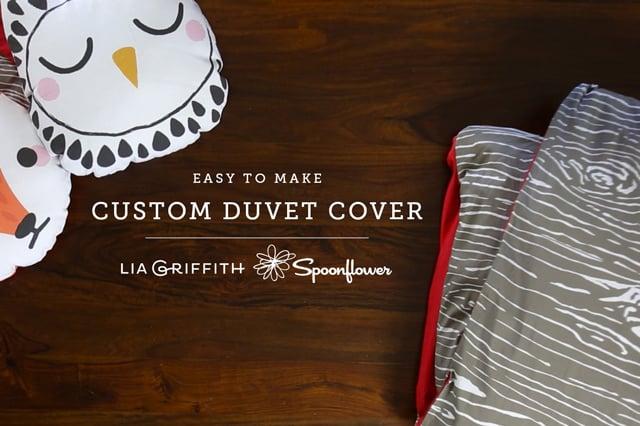 Πώς να φτιάξεις παπλωματοθήκη (duvet cover) 1