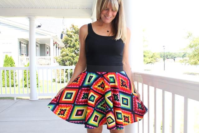 Πώς να ράψεις φούστα με λάστιχο 1