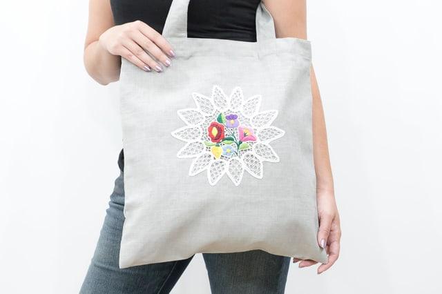 Τσάντα για ψώνια (tote bag) 1