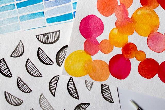 Εισαγωγή στην ζωγραφική με νερομπογιές 1