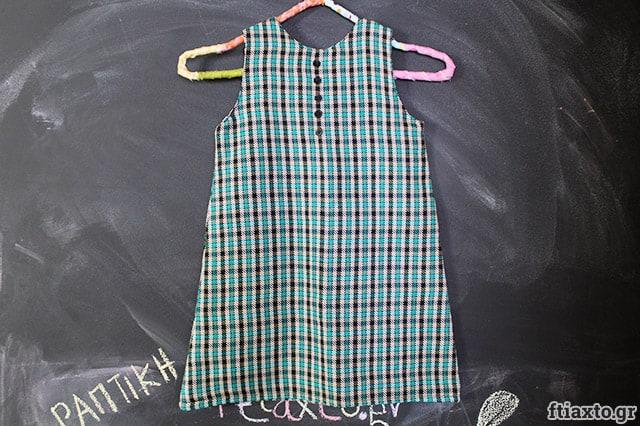Χειμωνιάτικο παιδικό φόρεμα 1