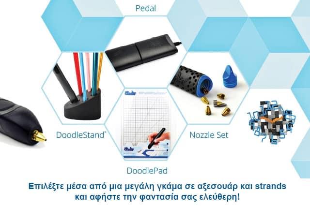 3Doodler: τα πρώτα 3D στυλό στον κόσμο 3