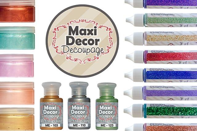 Παρουσίαση της Maxi Decor Decoupage 3