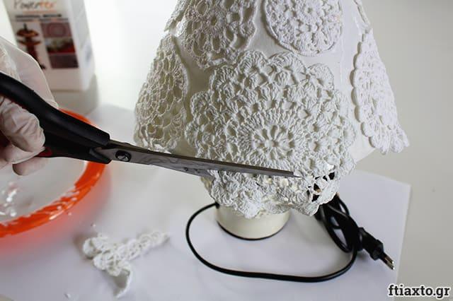 DIY: Αλλαγή φωτιστικού με σεμέν