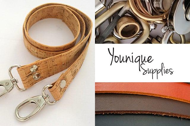 Younique supplies: Υλικά για κατασκευή τσάντας 1