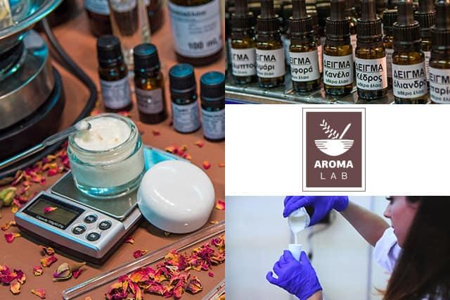 Aroma Lab: Υλικά, εξοπλισμός και σεμινάρια για φυτικά καλλυντικά 2