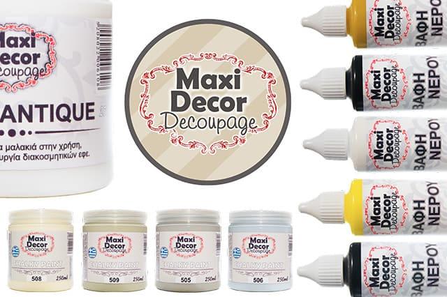 Καινούργια προϊόντα από την Maxi Decor Decoupage 3