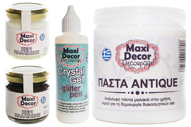 Καινούργια προϊόντα από την Maxi Decor Decoupage 6