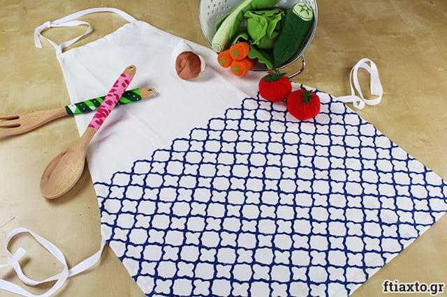 Ποδιά από πετσέτα κουζίνας 1