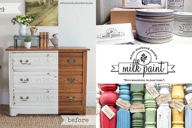 Miss Mustard Seed's Milk Paint: Χρώματα για να μεταμορφώσετε το σπίτι σας 2
