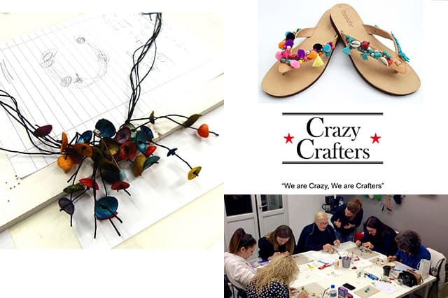 Crazy Crafters: Καλλιτεχνικά σεμινάρια 1