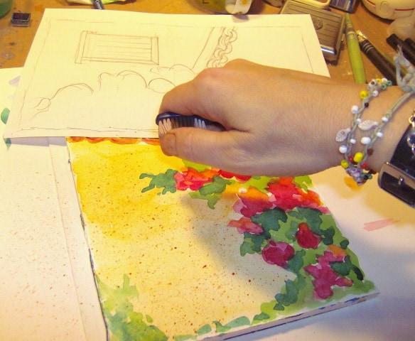 Εικαστικό Καφενείο: Online μαθήματα ζωγραφικής 4