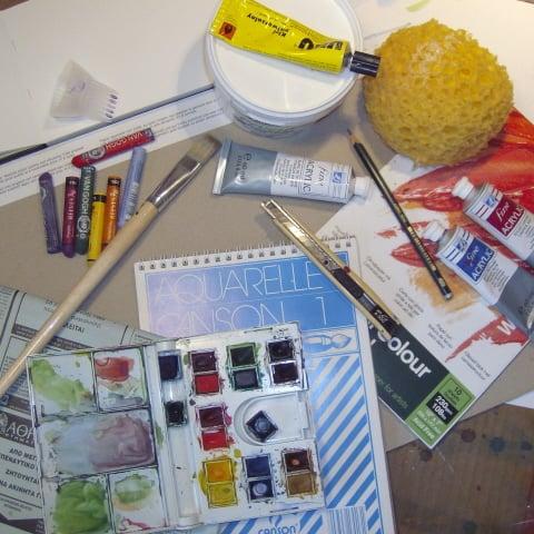 Εικαστικό Καφενείο: Online μαθήματα ζωγραφικής 6