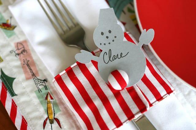 Δαχτυλίδια για πετσέτες για το γιορτινό τραπέζι 1
