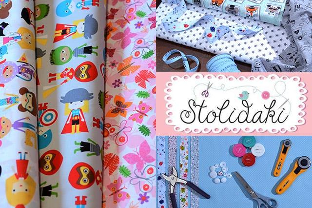 Stolidaki.gr: Υφάσματα και υλικά ραπτικής