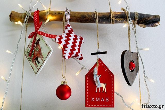 χριστουγεννιάτικο δέντρο τοίχου