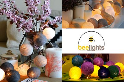 Beelights: Χειροποίητες γιρλάντες με φωτάκια