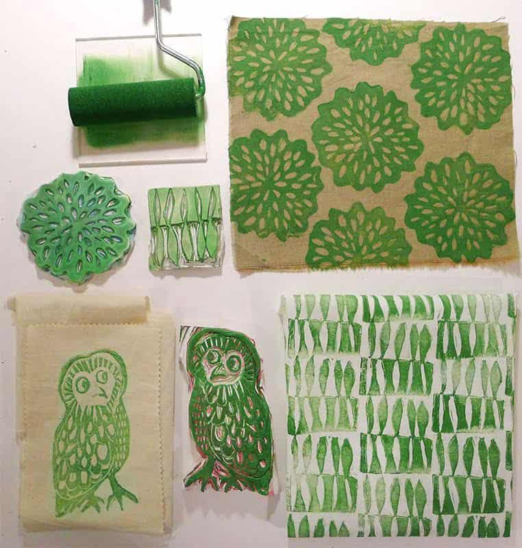 Kifisia Kraft: Νέο σεμινάριο Block Printing και νεα πατρόν ραπτικής και σετ υφασμάτων στο e-shop! 8