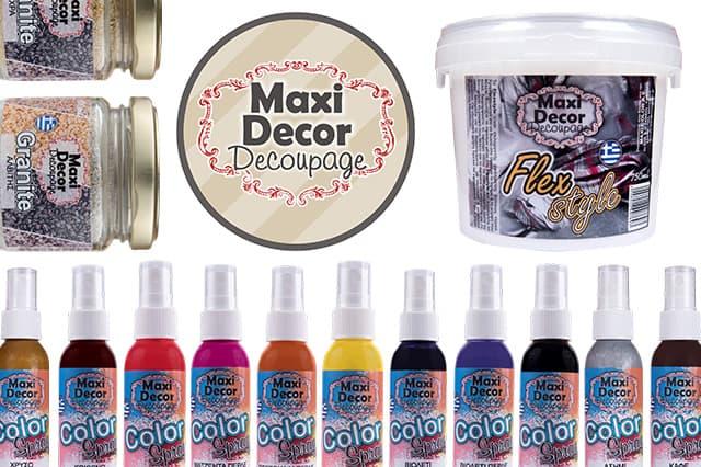 Η γκάμα προϊόντων της Maxi Decor Decoupage μεγαλώνει 1
