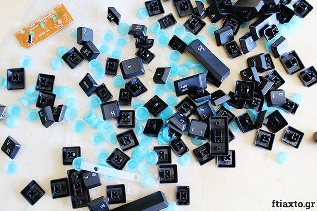 Κοσμήματα από πληκτρολόγιο
