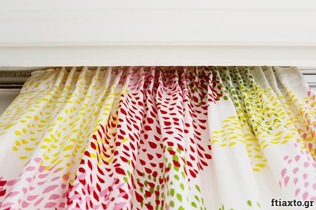 Προσθήκη κουρτινοθηλιάς σε κουρτίνα 1