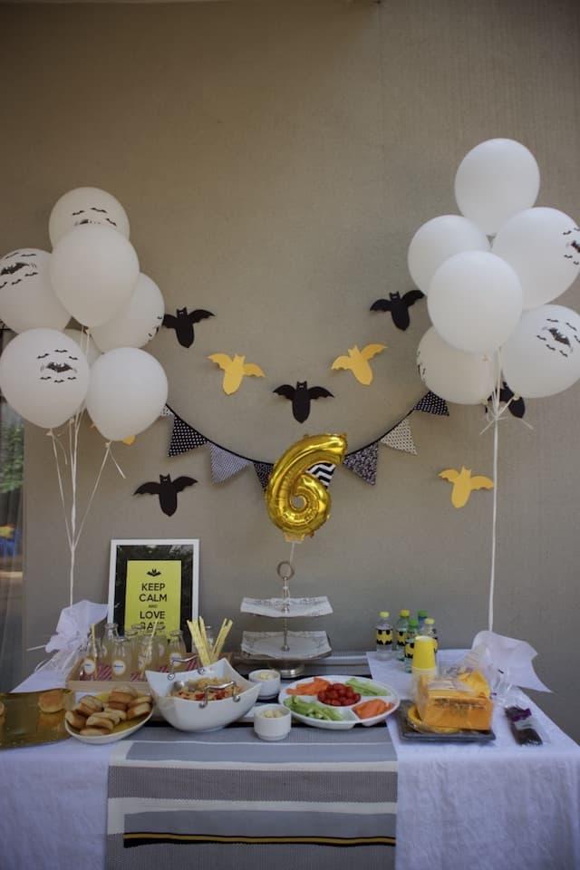 Πάρτι με θέμα νυχτερίδες 4