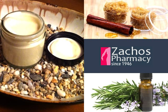 Zachos Pharmacy: Πρώτες ύλες για σπιτικά καλλυντικά 1