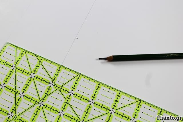 Εορταστικά νούμερα από χαρτόνι