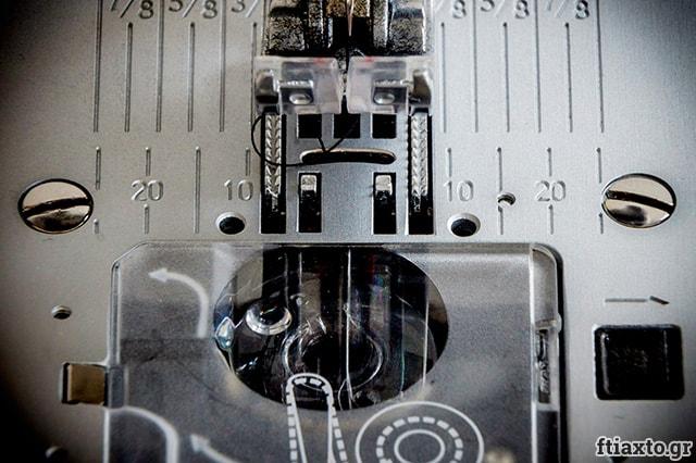 Μάθε να ράβεις με την ραπτομηχανή σου