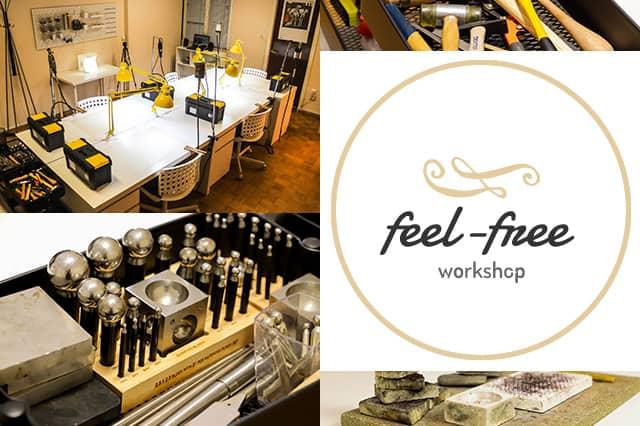 Feel-Free: Σεμινάρια κατασκευής χειροποίητου κοσμήματος 1