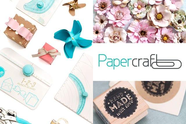 Papercraft: Υλικά και εργαλεία για όλες τις χειροτεχνίες σου 1